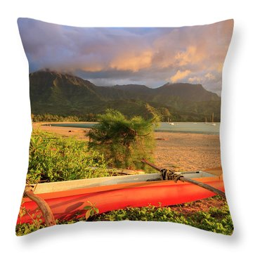 Bay Tree Throw Pillows For Sale