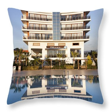 Vacation In Turkey Throw Pillow