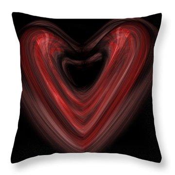 Valentine Throw Pillow by Christopher Gaston