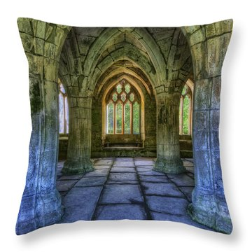 Valle Crucis Throw Pillow