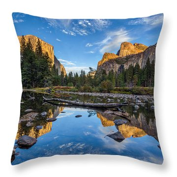 Valley View II Throw Pillow