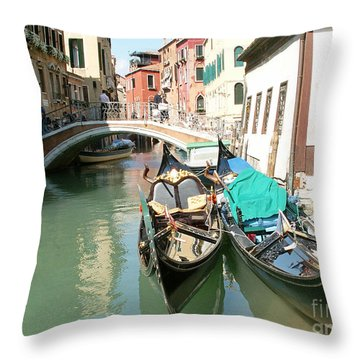 Venice Throw Pillow by Evgeny Pisarev