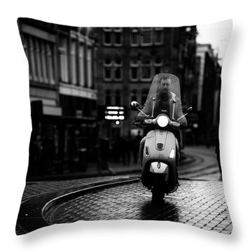 Pavement Throw Pillows