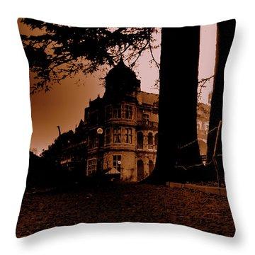 Viceregal Lodge Shimla Throw Pillow by Salman Ravish