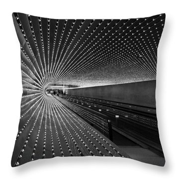 Throw Pillow featuring the photograph Villareal's Multiuniverse by Cora Wandel