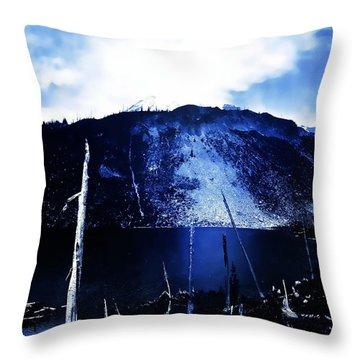 Vintage Lake Louise Early 1900 Era... Throw Pillow