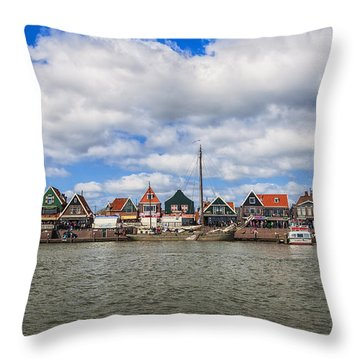 Volendam Throw Pillow by Joana Kruse