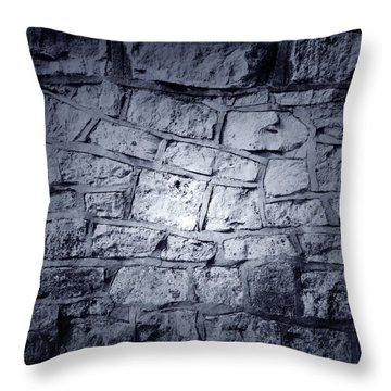 Wall Throw Pillow by Les Cunliffe