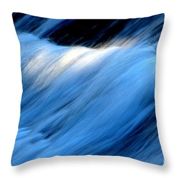 Throw Pillow featuring the photograph Spring Water by Irina Hays