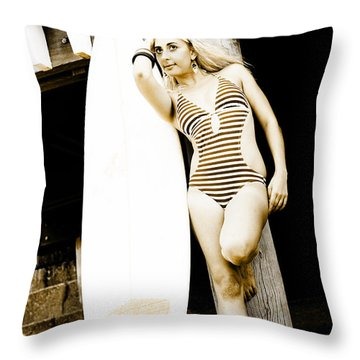 Water Sport And Recreation Throw Pillow