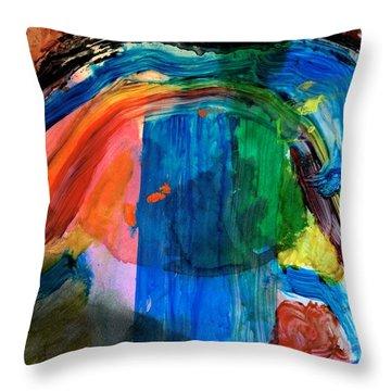 Wave Of Life Throw Pillow