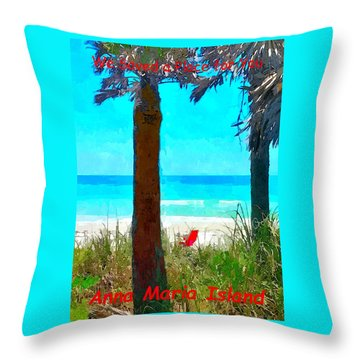 We Saved A Place For You Throw Pillow