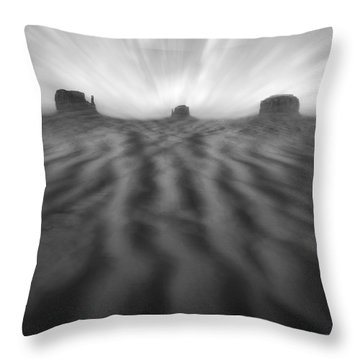 Weathered Throw Pillow by Mike McGlothlen