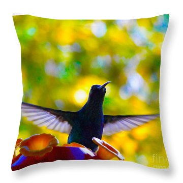 What Do We Have Here? Throw Pillow by Al Bourassa