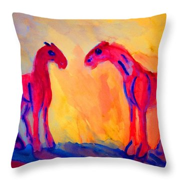 What Is Going On Is What's Going Wrong   Throw Pillow