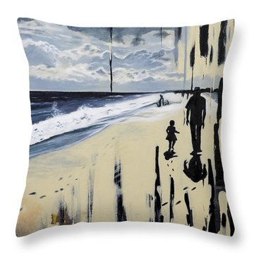 What Tides Cant Wash Away Throw Pillow