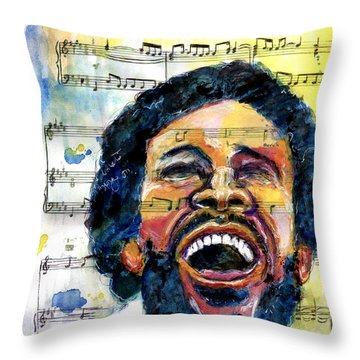 What's Going On Throw Pillow
