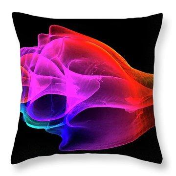 Xrays Throw Pillows