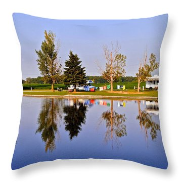 Which Way Is Up Throw Pillow by Frozen in Time Fine Art Photography