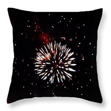 Throw Pillow featuring the photograph White Dwarf by Amar Sheow