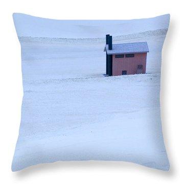 White Sands New Mexico Throw Pillow