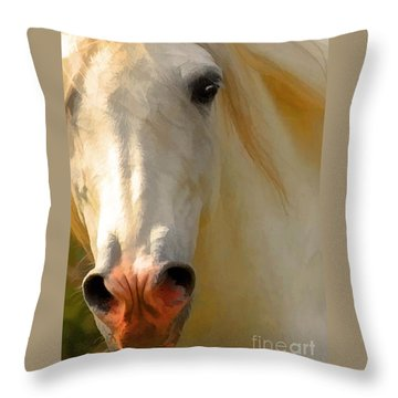 Throw Pillow featuring the photograph Wild And Free by Melinda Hughes-Berland