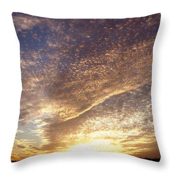 Wild Sky 2 Throw Pillow by Cynthia Lassiter