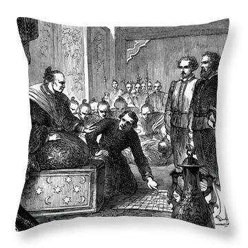 Will Adams (c1575-1620) Throw Pillow