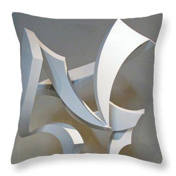 Wind Throw Pillow by John Neumann