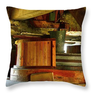 Windmill Throw Pillow by Tommytechno Sweden