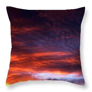 Windows Of Heaven Throw Pillow by Julia  Walsh