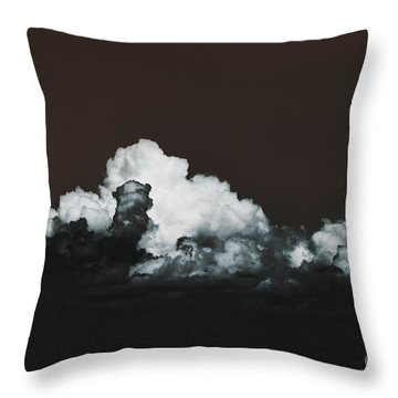 Throw Pillow featuring the photograph Words Mean More At Night by Dana DiPasquale