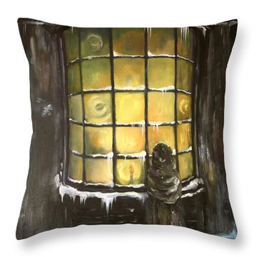 Ye Old Shoppe  Throw Pillow