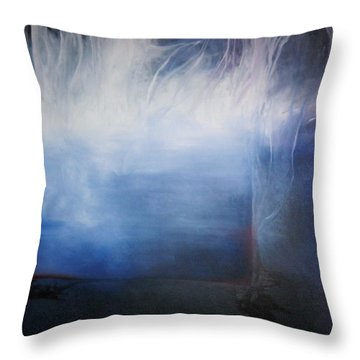 YOD Throw Pillow by Carrie Maurer