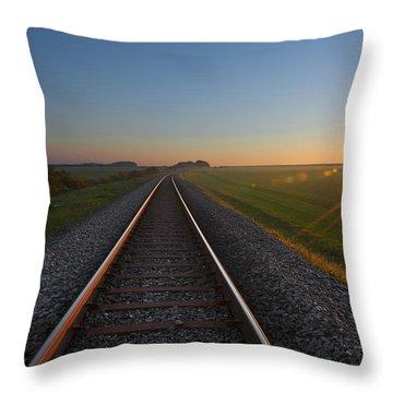 Yorkshire Throw Pillow by Svetlana Sewell