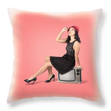 Television Program Throw Pillows