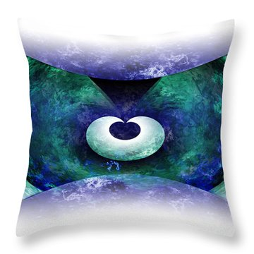 Zen Throw Pillow by Christopher Gaston