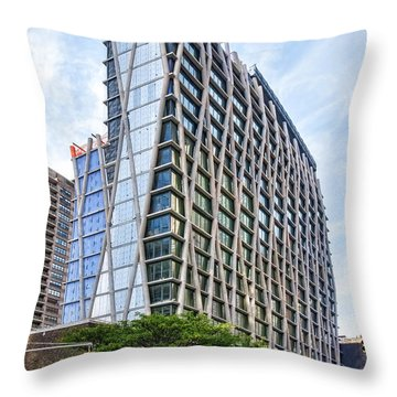 10/20/14 Se View Throw Pillow by Steve Sahm
