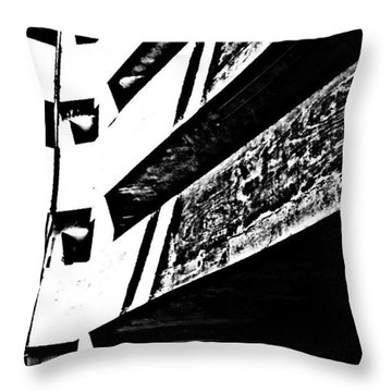 Car Park 3 Throw Pillow