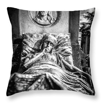 Cemetery Of Mantova Throw Pillow