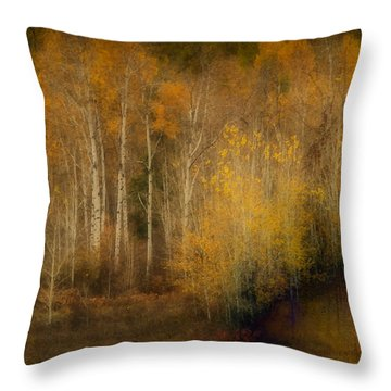 Fall At Sheep Creek Throw Pillow