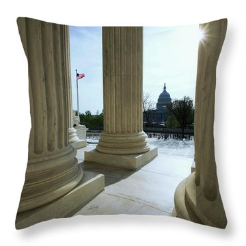 Capitol Building Throw Pillows