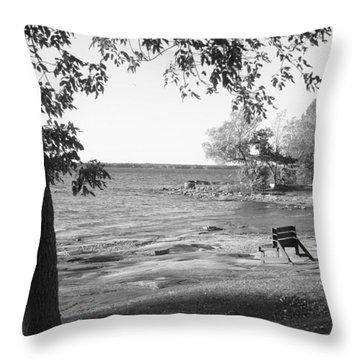 1000 Islands 1 Throw Pillow
