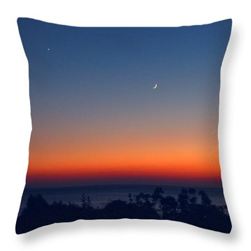 1001 Nights Throw Pillow by Andreas Thust