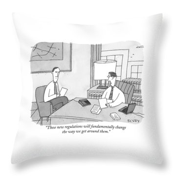These New Regulations Will Fundamentally Change Throw Pillow