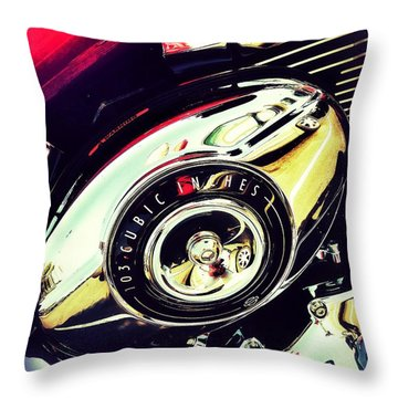 103cubic Throw Pillow by Olivier Calas