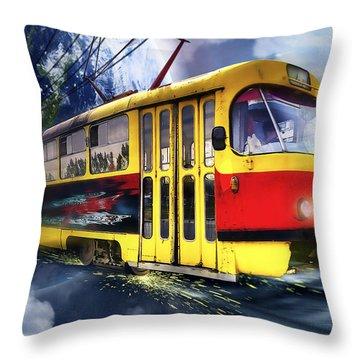104 Throw Pillow by Svetlana Sewell