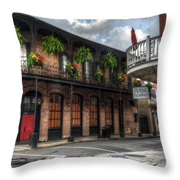 1041 Royal Throw Pillow by Greg and Chrystal Mimbs