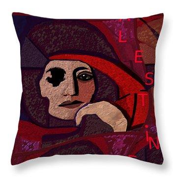 Gaza Throw Pillows
