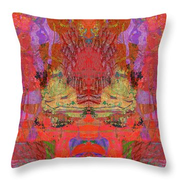 1074 Abstract Thought Throw Pillow by Chowdary V Arikatla